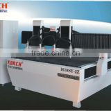 cnc router for furniture parts batch product /2.2kw spindles/AC servo motors /Ball screw transmission/ 3 axis dust proof system