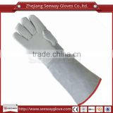 Seeway Extreme Heat Resistant Welding Gloves Industrial Pure Cowhide Leather Hand gloves