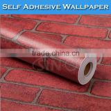 SINO Fast Shipment Brick Pattern 3D Wallpaper Floors Decoration