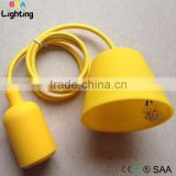 E27 Socket Silicone Pendent Lighting Cord Set