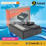 High quality fast double charger for Canon LP-E6 LP-E8 LP-E12 EN-EL14 EN-EL15 battery                                                                         Quality Choice