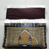 China memory foam backing chenille jacquard woven muslim prayer rug                                                                         Quality Choice