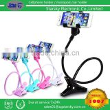 Mobile Phone long clip lazy phone holder gimbals lazy bedside bed bracket phone clip holder in Italy market