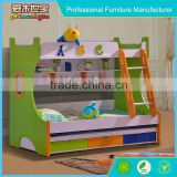 normal size children wood children bunk bed, wood bunk bed with desk, solid wood canopy bed