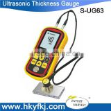 digital measurement and analysis thickness gauge coating paint ultrosonic thickness meter S-UG63