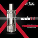 Christmas Discount Wholesale Dual Heart Dissipation Nichrome Single and Dual Coil SubX Tank From SMISS