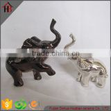 electroplate ceramic animal statue small elephant