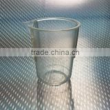 Low Form Graduated 25ml Clear Plastic TPX Beaker