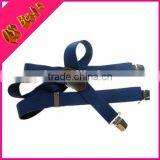 High Quality Cow Leather Men Blue Fashion Adult Suspender