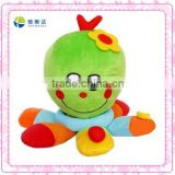 Funny plush octopus baby toys