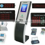 wireless queue management/digital queue manager/ticket printer queue management system/waiting line queue management