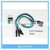 Alibaba Express RGB SMD 3 Colour LED Module 5050 Full Color Pwm For Ard MCU H418