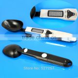 Stainless Steel Kitchen Lab Electronic Spoon Scales Weight Spoons Measuring Scale Measure LCD Digital 300g/0.1g