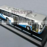 Daewoo diecasting model bus in scale 1:50