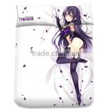 New Yatogami Tohka - Date a Live Japanese Anime Bed Sheet with Pillow Covers Blanket 12