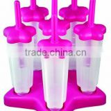 Silicone Ice Pop Maker Molds, Freeze Pops and Smoothie Pops - No Mess, Flexible, Durable, Easy to Clean and FDA Approved