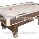 Made in China factory price 7ft wooden air powered hockey game table free accessory
