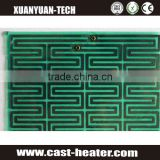 Fast heating polyimide flexible heater film