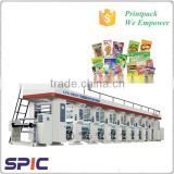 Automatic 8 color taiwan rotogravure printing machine