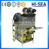 6.8L 4pcs Horizontal Cylinders Long Tube Mobile Cart Air Breathing Apparatus (SCBA)