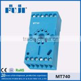 MT740(Blue/Black) 11 pIn auto relay socket relay socket
