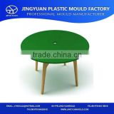 Practical high grade plastic bar table and chairs mould