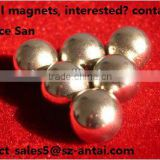 Powerful rare earth magnetizer ball neodymium magnet, bouncy ball,magnetic balls