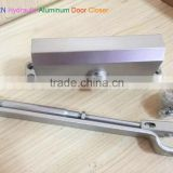 Die Casting Aluminum Alloy Adjustable speed Hydraulic commercial Door Closer , overhead surface install Fire Rated Door Closer