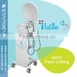 220 / 110V Pigment Removal 7mhz HIFU 3mm Deep Fat Reduction Dermis Chest Shaping Skin Lifting Anti Aging HIFU Machine