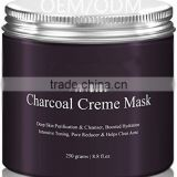 Fights Acne and Deep Cleans Pores Activated Charcoal Creme Facial Mask