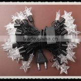 40 Led Chasing String Christmas light with Cute Twinkle Star Shape