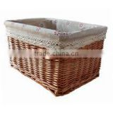 Charcoal basket crate/ bamboo flower basket for wholesale