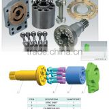 Hydraulic Piston Pump Parts for Hitachi Series HPV125B HPV102 / 116 / 118