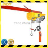 CE certificate 880LBS mini electric hoist without trolley