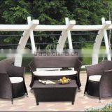 High Quality China Hotel Patio Rattan Wicker Sofa
