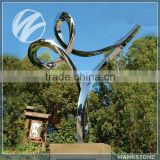 Outdoor Garden Large Abstract Tai Chi Metal Art Sculpture