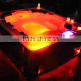 CE certification massage bathtub whirlpools & outdoor spa for 6 person commercial balboa hot tub with sex masage