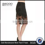 MGOO Cheap Price Quality Guaranteed Split Black Lace Skirts For Women Sexy Slinky Skirt Divided 15145A382