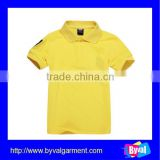 wholesale kids clothes polo shirt fashion embroidered kids polo shirt for children