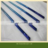 electroplated 100% graphite golf club shafts