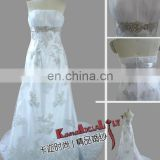 EB701 KAL-fashion 2015 hot selling designer wedding dresses high waist bridesmaid dresses bridal gown
