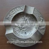 Round Metal Ashtray Antique Metal Souvenir Ashtray Metal Standing Ashtray