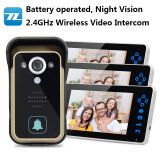 Night Version IR motion detection wireless door camera with monitor TL-A700A