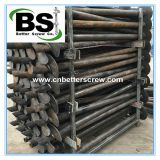 Helical pile for building foundation repair with high quality steel pipe