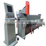 3 position tool changing automatic multi-spindle drilling machine for water outlets slots ALU Window and door