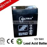 5-12ah compatible smf sealed lead acid battery for Emergency Exit Lighting Systems