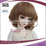 short cute dark brown bob doll wigs for sale