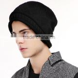2015 Man's boys light weight stretchy long slouchy beanie/soft knit slouch beanie cap