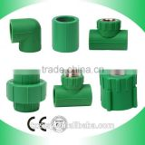 High Quality PN25 Pressure Casting Green PPR Pipe Fittings                                                                         Quality Choice