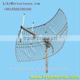 800MHz 14dB Outdoor directional point to point grid antenna Wifi Wlan antenna with high performance
